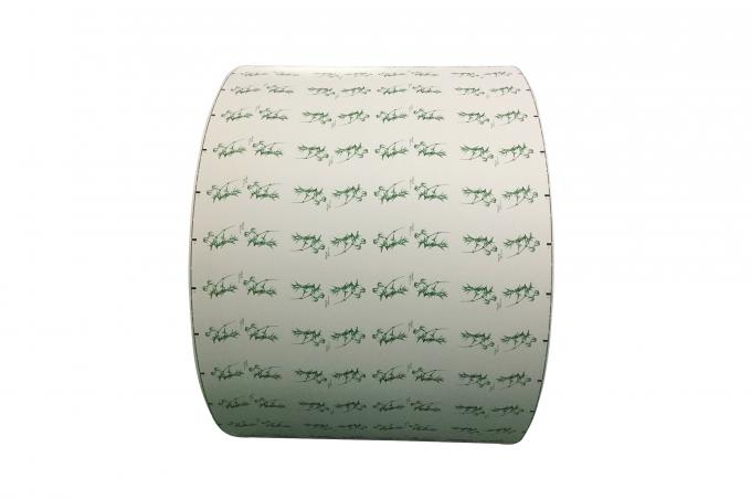 Eco Ink 8oz Printed Paper Roll For Creating Single Wall Diaposable Cups