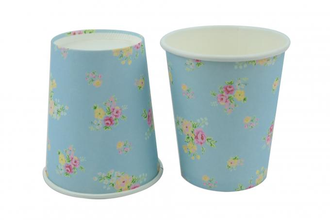 Thick PE Layer Single Wall Paper Cups 300ml Preventing Leakage Effectively
