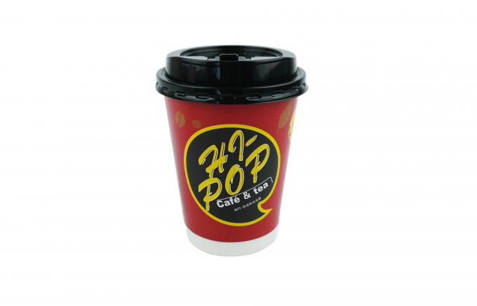 400ml Double Wall Paper Cups QC Random Inspection For Milk Coffee And Tea